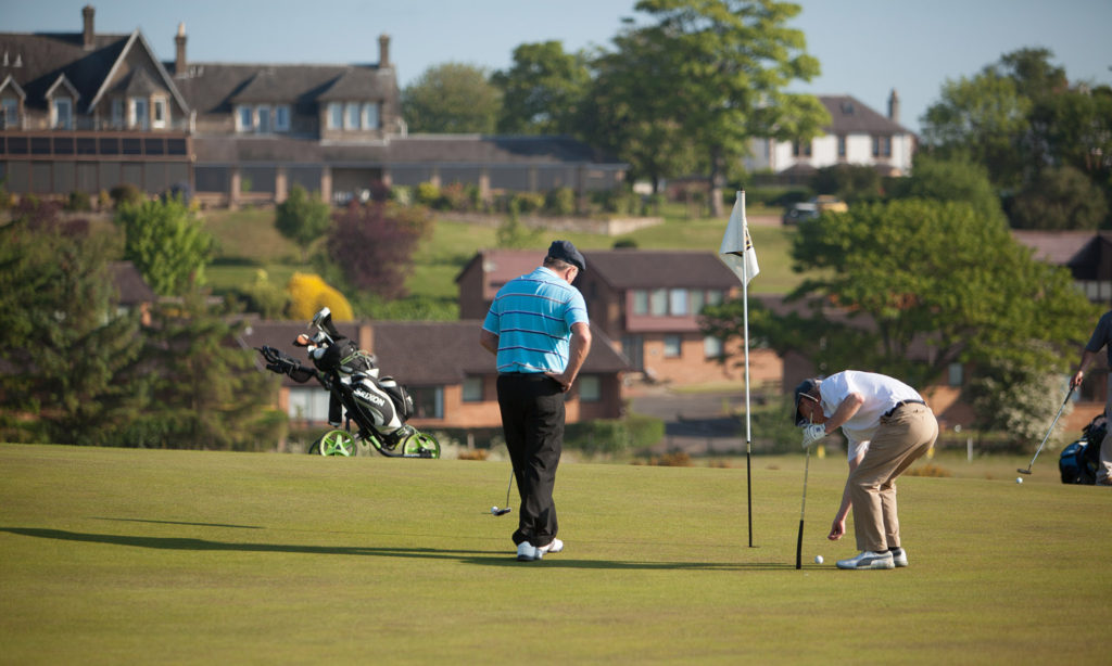Golf holiday in Fife