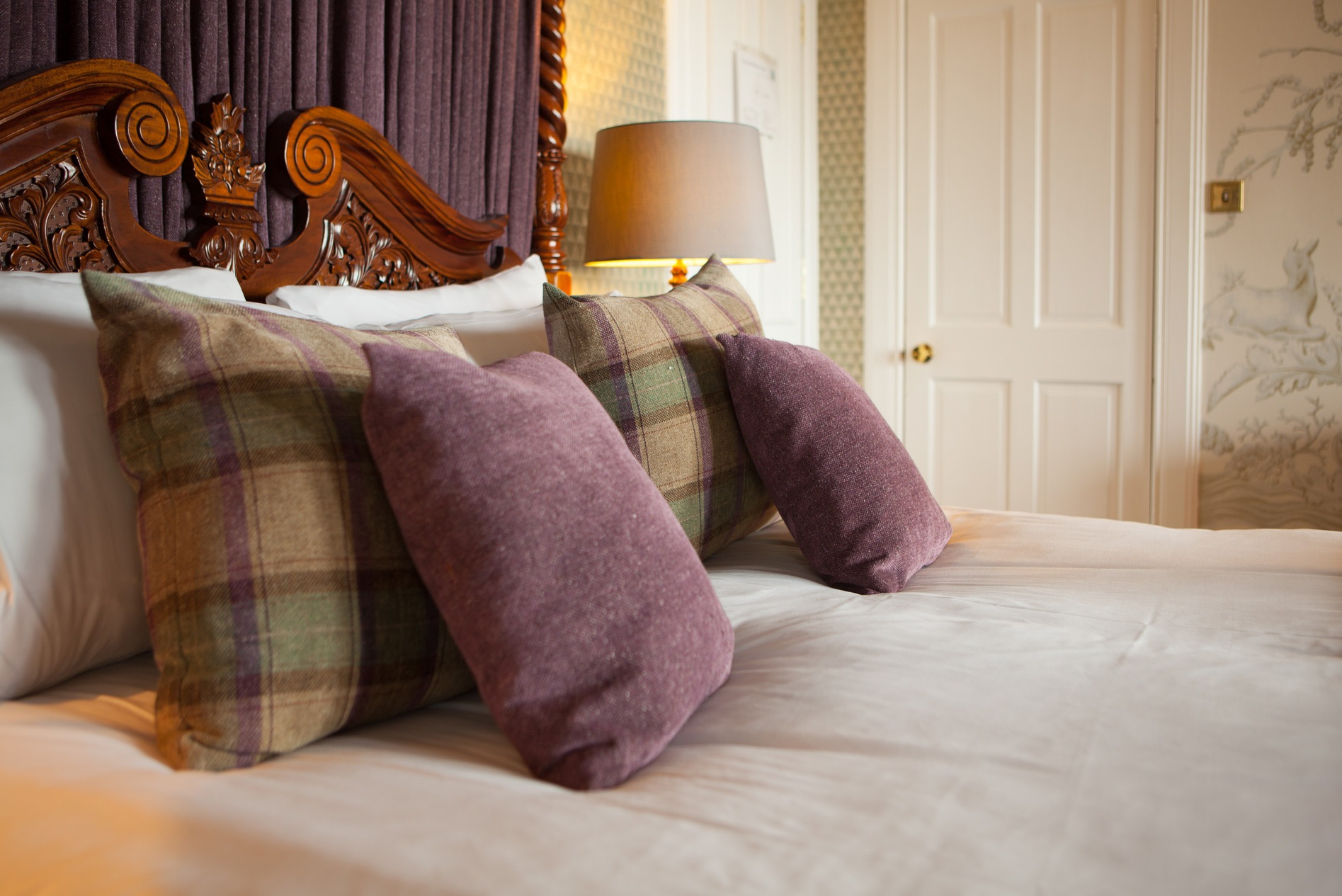 luxury four poster suite near st andrews